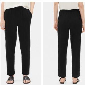 Eileen Fisher Organic Cotton Gauze Slouchy Pant M
